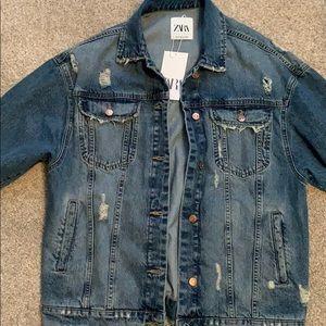 Zara Jean jacket, brand new with tags